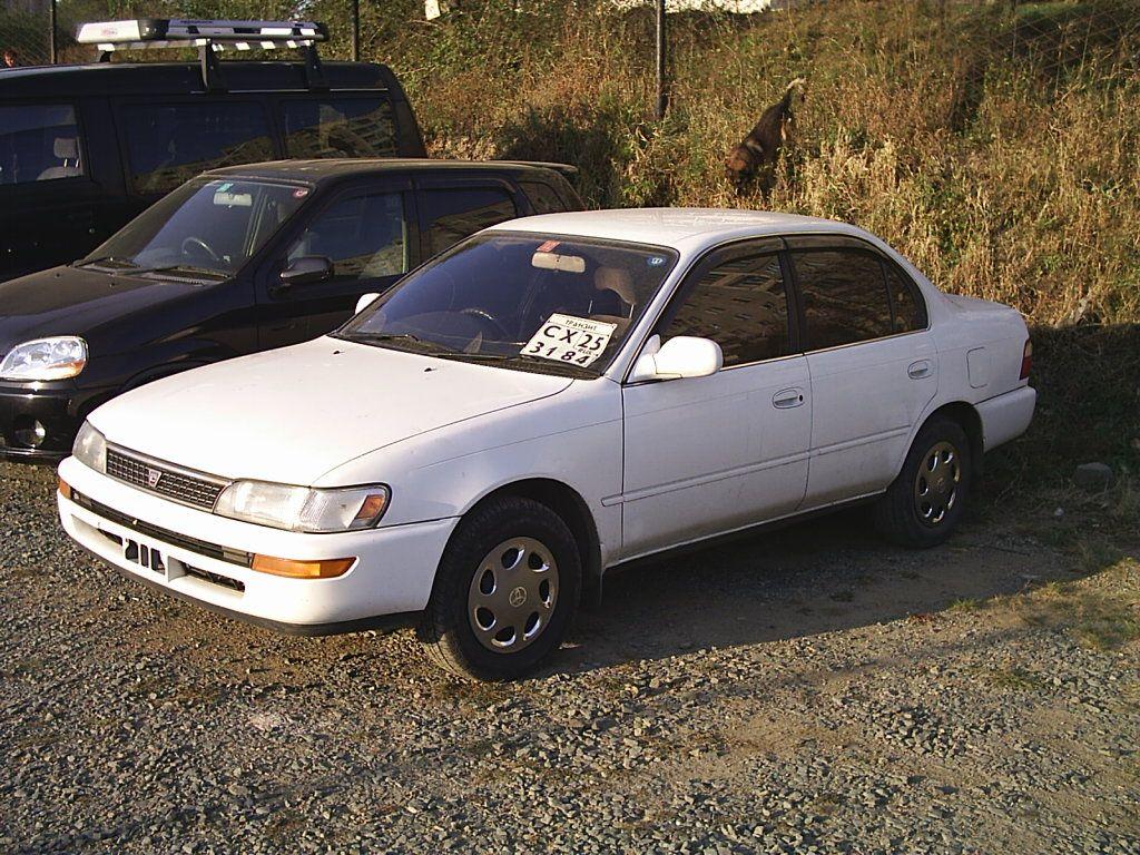 Kelebihan Toyota Corolla 1992 Spesifikasi